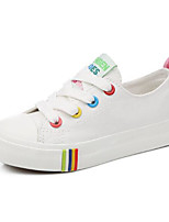 cheap -Boys' / Girls' Shoes Canvas Spring / Fall Comfort Sneakers for White / Black / Red