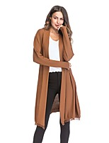 cheap -Women's Active Cardigan - Solid Colored