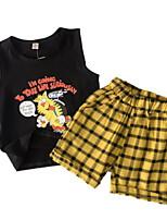 cheap -Kids Boys' Print Sleeveless Clothing Set