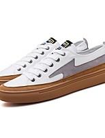 cheap -Men's Canvas Spring & Summer Comfort Sneakers Black / Gray / Khaki