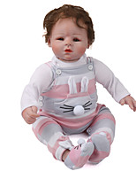cheap -Reborn Doll / Reborn Toddler Doll Baby 22 inch lifelike Kid's Unisex Gift