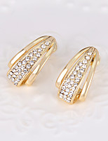 cheap -Women's Stylish Stud Earrings - Creative Stylish, European Gold For Wedding / Party / Birthday
