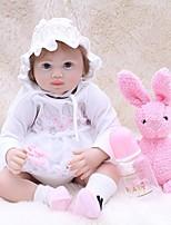 baratos -OtardDolls Bonecas Reborn Bebês Meninas 20 polegada realista, Implantação artificial olhos azuis, Nozes vedadas e seladas de Criança Para Meninas Dom