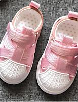 Недорогие -Мальчики / Девочки Обувь Сетка Весна лето Удобная обувь Кеды На липучках для Дети (1-4 лет) Черный / Серый / Розовый