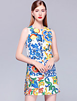 cheap -Mary Yan & Yu Women's Street chic A Line Dress - Floral Beaded