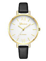 cheap -Geneva Women's Dress Watch / Wrist Watch Chinese New Design / Casual Watch / Cool Leather Band Casual / Fashion Black