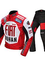 baratos -DUHAN DUHAN-082 Roupa da motocicleta Conjunto de calças de jaquetaforTodos 600D de poliéster Primavera / Todas as Estações Impermeável / Resistente ao Desgaste / Proteção