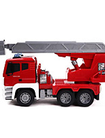 cheap -RC Car MZ 2081 4CH Infrared Construction Truck 1:18 15 km/h KM/H
