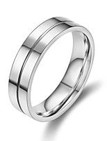 cheap -Men's Classic / Stylish Band Ring / Ring - Titanium Steel Classic 7 / 8 / 9 Silver For Gift / Daily