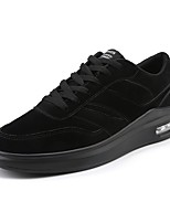 cheap -Men's Suede Fall Comfort Sneakers Black / Gray / Red