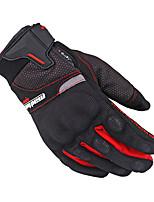 baratos -Madbike Dedo Total Unisexo Motos luvas Mistura de Material Sensível ao Toque / Respirável / Anti-desgaste