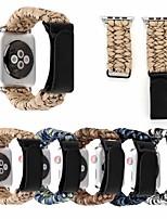 abordables -Bracelet de Montre  pour Apple Watch Series 4/3/2/1 Apple Bracelet en Cuir Vrai Cuir Sangle de Poignet