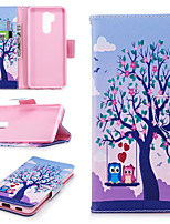 cheap -Case For LG G7 Wallet / Card Holder / with Stand Full Body Cases Tree Hard PU Leather for LG G7