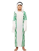 cheap -Cosplay Outfits Boys' Halloween / Carnival / Children's Day Festival / Holiday Halloween Costumes White Solid Colored / Halloween Halloween