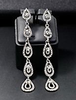 cheap -Women's Stylish Drop Earrings - Creative Simple, European, Fashion Silver For Wedding / Daily