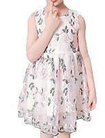 cheap -Kids / Toddler Girls' Floral Sleeveless Dress