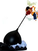 baratos -Figuras de Ação Anime Inspirado por One Piece Monkey D. Luffy PVC 26 cm CM modelo Brinquedos Boneca de Brinquedo