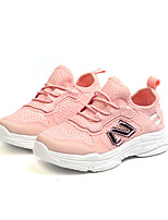 cheap -Girls' Shoes PU(Polyurethane) Spring & Summer Comfort Athletic Shoes Walking Shoes Sequin for Teenager White / Red / Pink