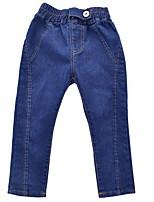 economico -Bambino Da ragazza Con stampe Jeans