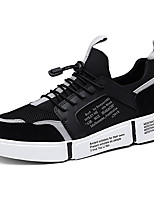cheap -Men's Mesh / PU(Polyurethane) Fall & Winter Comfort Sneakers White / Black / Red