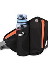 cheap -4 L Hiking Waist Bag - Rain-Proof, Waterproof Zipper Outdoor Hiking, Running, Jogging Nylon Green, Blue, Violet
