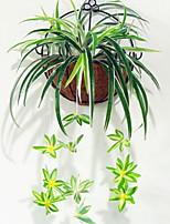 Недорогие -Искусственные Цветы 1 Филиал С креплением на стену Модерн / Простой стиль Вечные цветы Цветы на стену