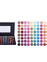 preiswerte -MISS ROSE 2 Lidschatten / Puder EyeShadow Wasserfest / Einfach zu tragen / dauerhaft Tragbar Komfortabel Alltag Make-up / Halloween Make-up / Party Make-up Bilden Kosmetikum / Matt / Schimmer