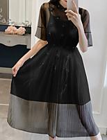 abordables -Mujer Blusa - Un Color Vestidos