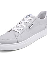 cheap -Men's Canvas Fall Comfort Sneakers Black / Gray / Red