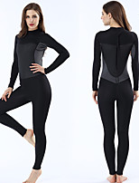 cheap -MYLEDI Women's Full Wetsuit 2mm SCR Neoprene Diving Suit Anatomic Design, Stretchy Long Sleeve Back Zip
