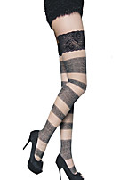 cheap -Women's Thin Stockings - Color Block