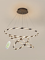 cheap -OYLYW 3-Light Circular Chandelier Ambient Light - New Design, Dimmable, 110-120V / 220-240V, Dimmable With Remote Control, LED Light Source Included