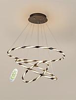 Недорогие -OYLYW 3-Light Круглый Люстры и лампы Рассеянное освещение - Новый дизайн, Диммируемая, 110-120Вольт / 220-240Вольт, Диммируемый с дистанционным управлением, Светодиодный источник света в комплекте