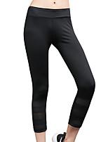 preiswerte -Damen Alltag Sportlich Legging - Solide Mittlere Taillenlinie