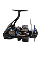 cheap -Fishing Reel Spinning Reel 4.8:1 Gear Ratio+7 Ball Bearings Hand Orientation Exchangable Sea Fishing / Bait Casting / Spinning