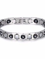 cheap -Men's Link / Chain Chain Bracelet - Stainless Creative, Precious Stylish, Classic, European Bracelet Silver For Street / Going out