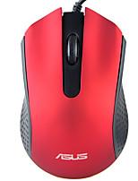 baratos -ASUS USB com fio Mouse de Escritório / mouse ergonômico Óptico AE-01 3 pcs chaves 1000 dpi