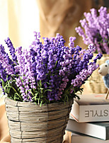 cheap -Artificial Flowers 1 Branch Classic Simple Style / Pastoral Style Lavender Tabletop Flower