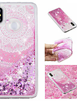 cheap -Case For Xiaomi Redmi Note 5 Pro / Mi 8 Flowing Liquid / Pattern / Glitter Shine Back Cover Mandala / Glitter Shine Soft TPU for Xiaomi Redmi Note 5 Pro / Xiaomi Redmi Note 4X / Xiaomi Redmi Note 4