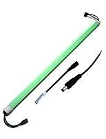 abordables -ZDM® 1m Tiras LED Rígidas 120 LED 5050 SMD 1 Cables de CC / 1 x interruptor de atenuación RGB Nuevo diseño / Decorativa / Conectable 12 V 1 juego