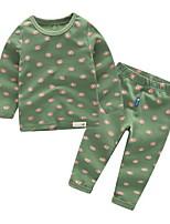 cheap -Toddler Boys' Print Long Sleeve Clothing Set
