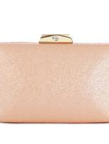 Недорогие -Жен. Мешки PU Вечерняя сумочка Рельефный Черный / Розовый / Светло-лиловый