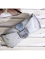 cheap -Women's Bags Cowhide Clutch Buttons / Zipper Black / Blushing Pink / Yellow