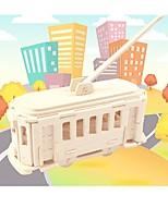 economico -Modellini di legno / Giocattoli di logica e puzzle Autobus a due piani Scuola / Livello professionale / Stress e ansia di soccorso di legno 1 pcs Per bambini / Teen Tutti Regalo