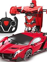 Недорогие -Машинка на радиоуправлении 606 10.2 CM 2.4G Автомобиль / Гоночный автомобиль 1:18 КМ / Ч