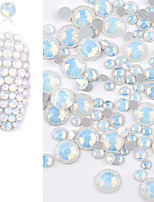 cheap -300 pcs Nail Jewelry Fashionable Design nail art Manicure Pedicure Daily Wear Crystal