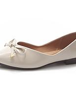 cheap -Women's Shoes PU(Polyurethane) Summer Comfort Flats Flat Heel Pointed Toe Beige / Red