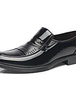 cheap -Men's PU(Polyurethane) Fall Comfort Loafers & Slip-Ons Black / Brown