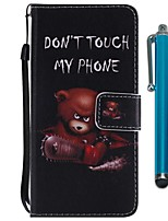 cheap -Case For Sony Xperia XZ2 Compact / Xperia XZ2 Wallet / Card Holder / with Stand Full Body Cases Animal Hard PU Leather for Sony Xperia XZ2 / Sony Xperia XZ2 Compact / Xperia XZ1 Compact