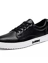 cheap -Men's PU(Polyurethane) Spring Comfort Sneakers White / Black